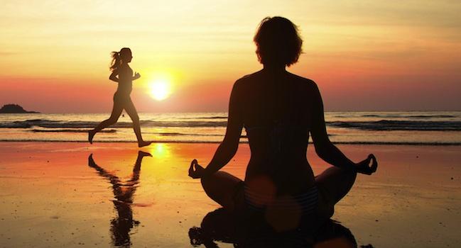 Mindfulnes, stappen tellen en ritmisch ademen