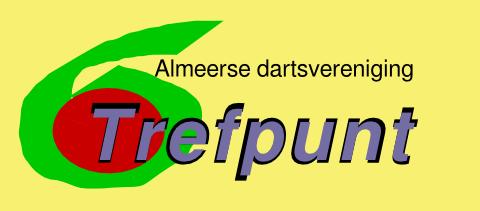 Logo van de Almeerse Dartsvereniging Trefpunt